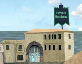 Enter Deinhardt Private (Restricted Area)